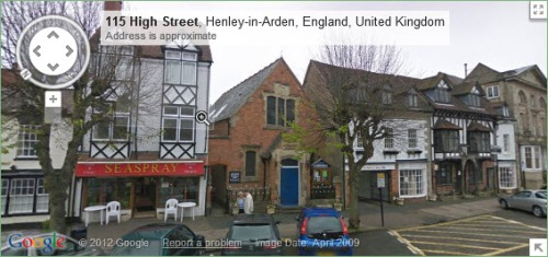Directions to Henley Community Library