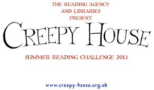 Creepy House Summer Reading Challenge 2013