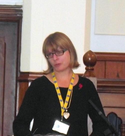 Stratford CAB Manager Sue Green explained the aims of the clinic