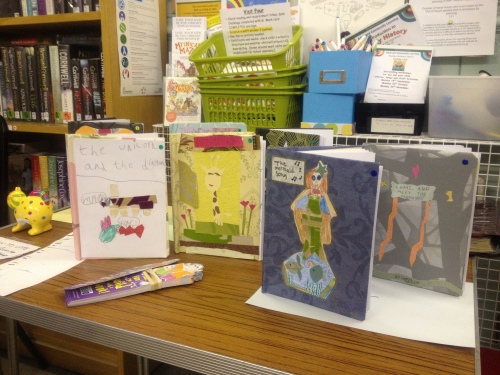 Summer Holiday Book Making Competition Entries