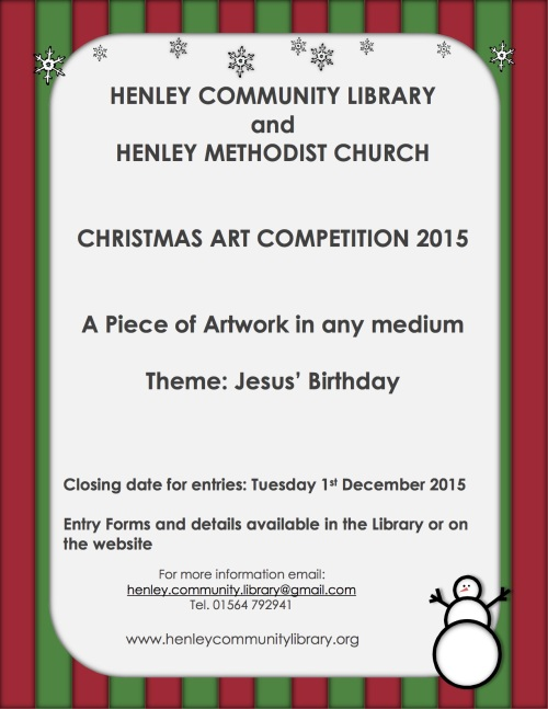 Poster - Library Art Competition