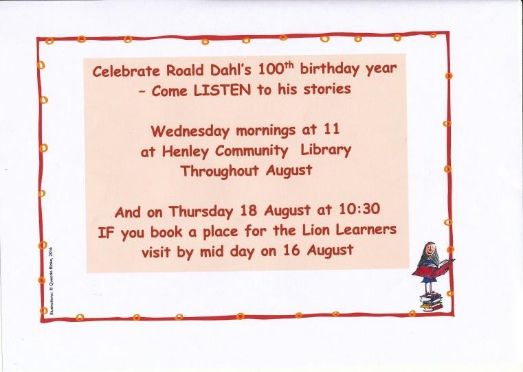Roald Dahl's stories